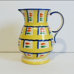 Vintage Ditmar Urbach hand painted pitcher